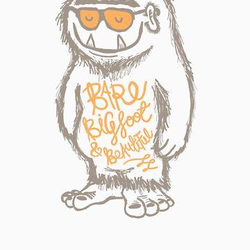 Bare, Bigfoot & Beautiful by creativepanic