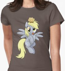 Derpy Muffins Shirt (My Little Pony: Friendship is Magic) Women's Fitted T-Shirt