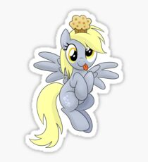 Derpy Muffins Shirt (My Little Pony: Friendship is Magic) Sticker