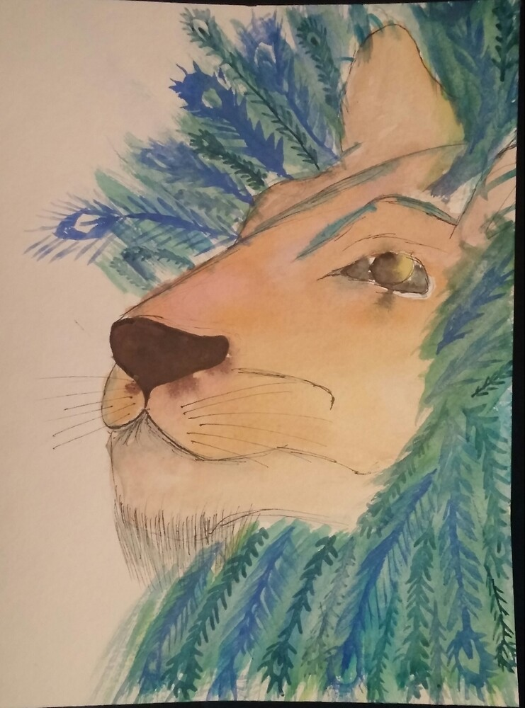 Lion Peacock by EmilyMag
