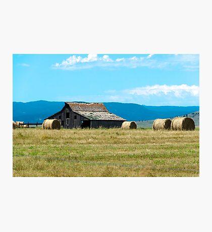 Prairie Barn Photographic Print