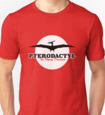 Pterodactyl, the Flying Dinosaur Unisex T-Shirt