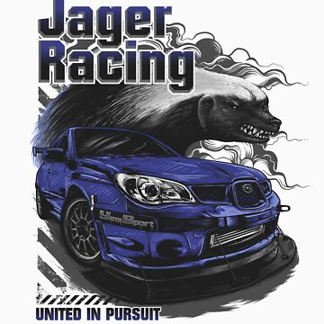 Jager Raging Fierce Badger by rjager