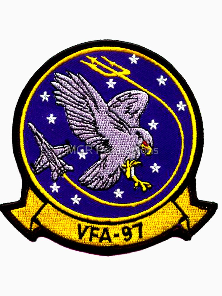 VFA-97 Warhawks Patch by Quatrosales