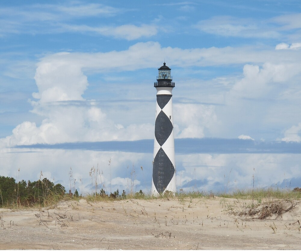 Cape Lookout light by Robert Angier