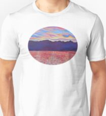 Sunset Over Vancouver Island T-Shirt