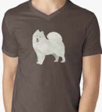 Samoyed Men's V-Neck T-Shirt