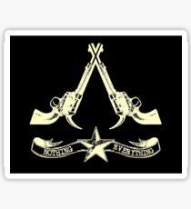 old west assassins Sticker