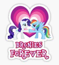 Bronies Forever 4 Sticker