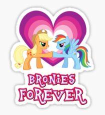 Bronies Forever 5 Sticker
