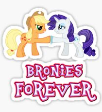 Bronies Forever (No Heart) 9 Sticker