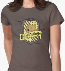 Huffledoge Womens Fitted T-Shirt