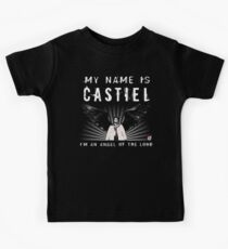 CASTIEL ANGEL OF THE LORD Kids Tee
