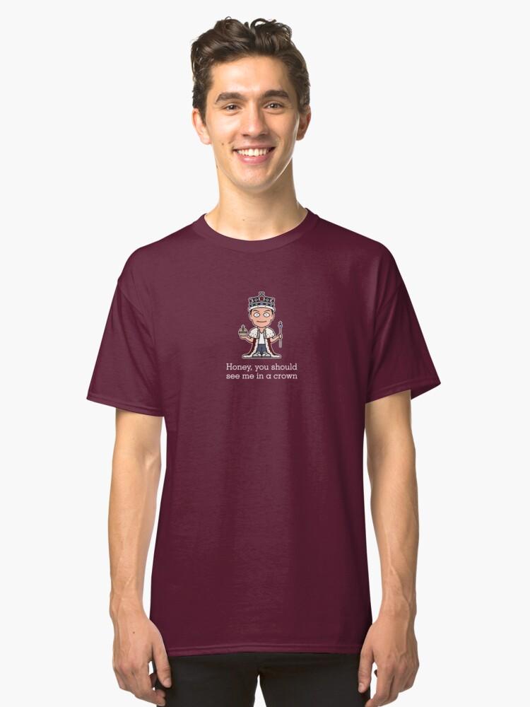 Jim Moriarty (shirt) Classic T-Shirt Front