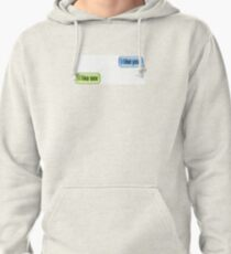 I Like You Pullover Hoodie
