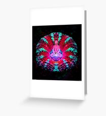 Mushroom Meditation Greeting Card