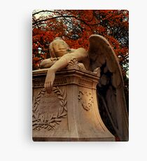 Weeping Angel Canvas Print