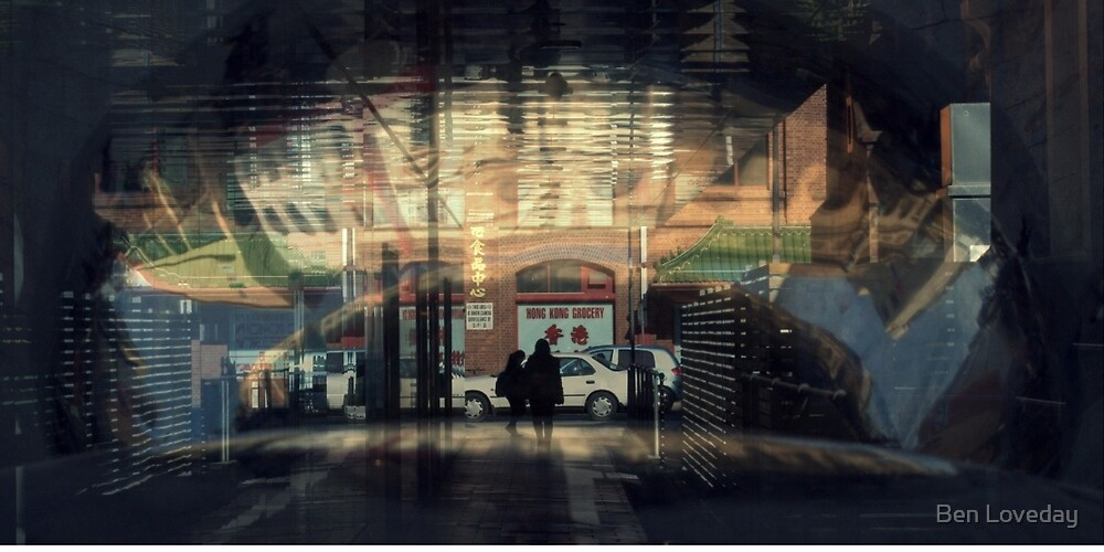 Emanations From The Grocery Shop by Ben Loveday