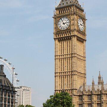 Big Ben by MagicTypewriter