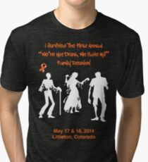 MS Reunion Zombie Tri-blend T-Shirt