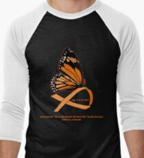 MS Reunion Butterfly  Men's Baseball ¾ T-Shirt
