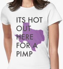 Texas Purp Womens Fitted T-Shirt
