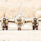 B-29 FIFI (Line Art) by cadman101