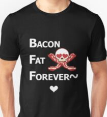 Miscellaneous - bacon fat forever - dark T-Shirt