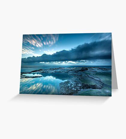 An Ocean Crater Greeting Card