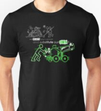 We Reject Your Cannon (Green Version) Unisex T-Shirt