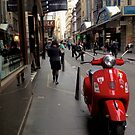 A splash of red in a sea of grey by crankster-aus
