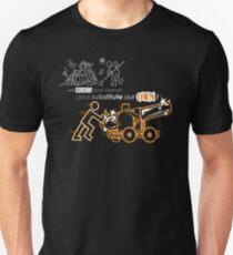 We Reject Your Cannon (Orange Version) Unisex T-Shirt