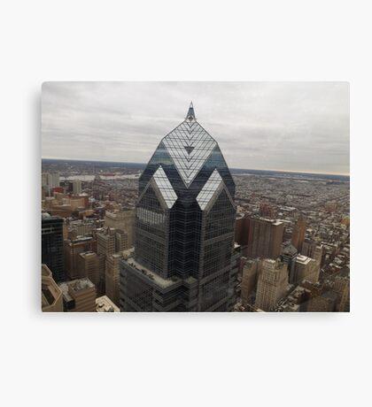 Aerial View of Philadelphia, One Liberty Observation Deck, Philadelphia, Pennsylvania Canvas Print