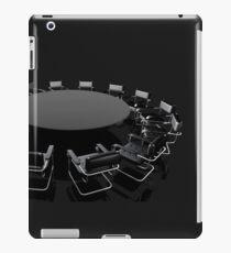 negotiating table iPad Case/Skin