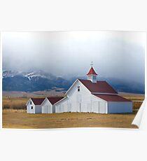 Beckwith Ranch, Westcliffe, Colorado Poster