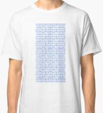 Watercolor rain Classic T-Shirt