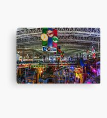 mall Canvas Print