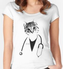 Dr. Cat Women's Fitted Scoop T-Shirt