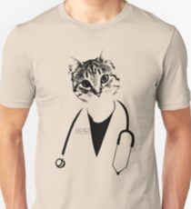 Dr. Cat Unisex T-Shirt