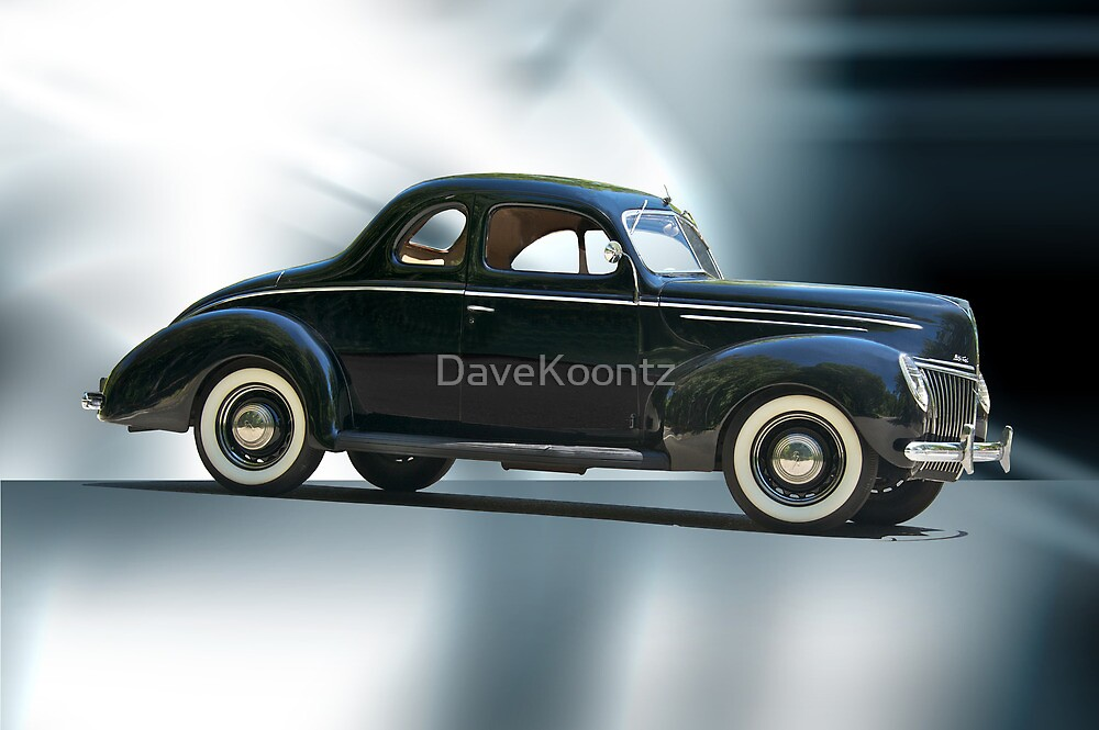 1940 Ford 'Deluxe' Coupe by DaveKoontz