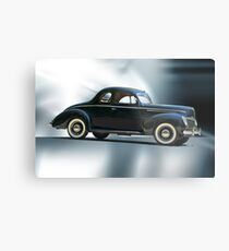 1940 Ford 'Deluxe' Coupe Metal Print