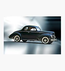 1940 Ford 'Deluxe' Coupe Photographic Print