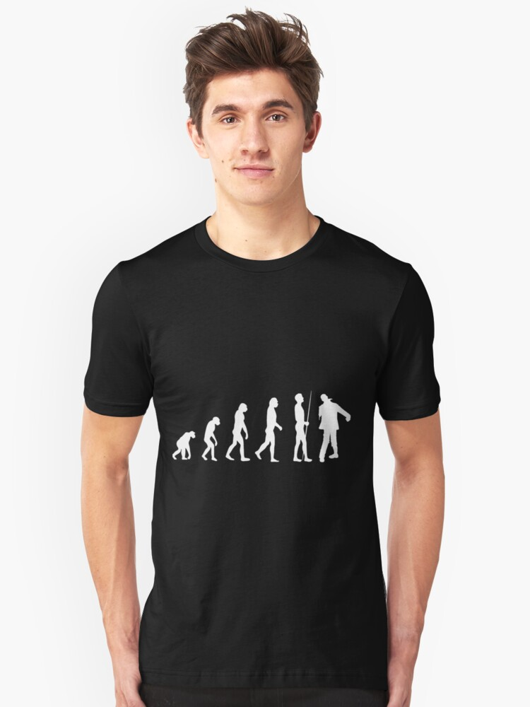 zombie evolution Unisex T-Shirt Front