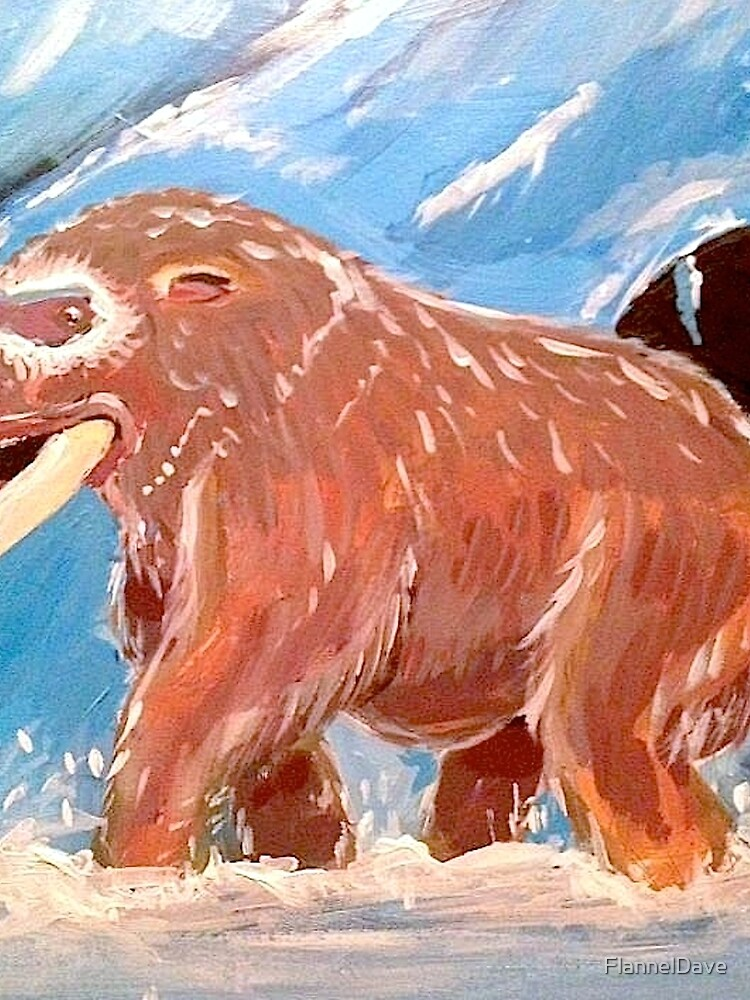 Realistic Mamoswine & Swinub by FlannelDave