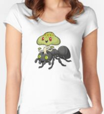 Cordyceps Ant Women's Fitted Scoop T-Shirt