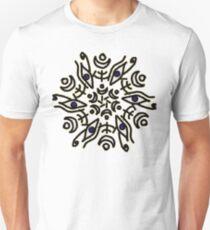 Eye of Horus symmetry Slim Fit T-Shirt