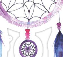 Dreamcatcher Watercolor Illustration Sticker