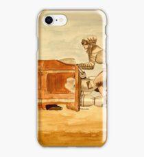 speeder iPhone Case/Skin