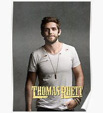 Thomas Rhett Tour 2016 mic03 Poster