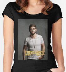 Thomas Rhett Tour 2016 mic03 Women's Fitted Scoop T-Shirt